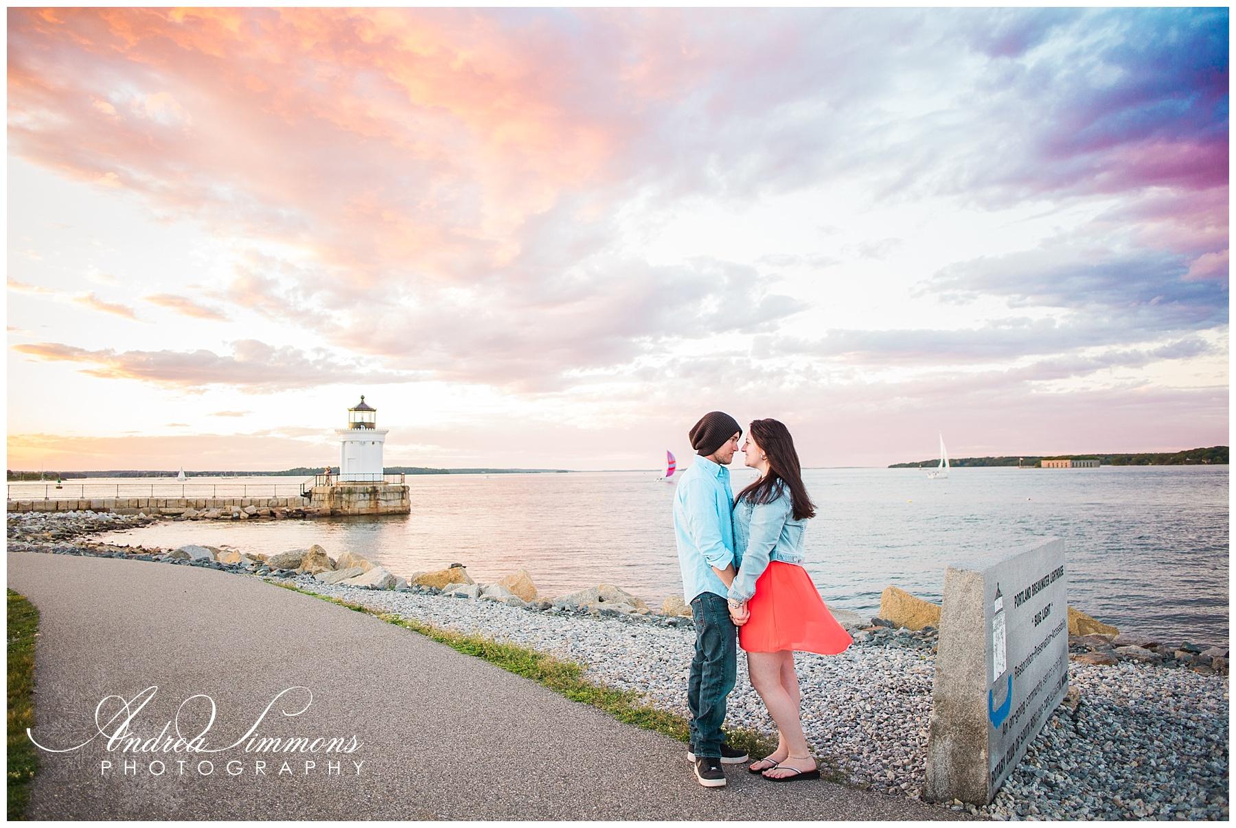 Maine engagement and wedding photographer