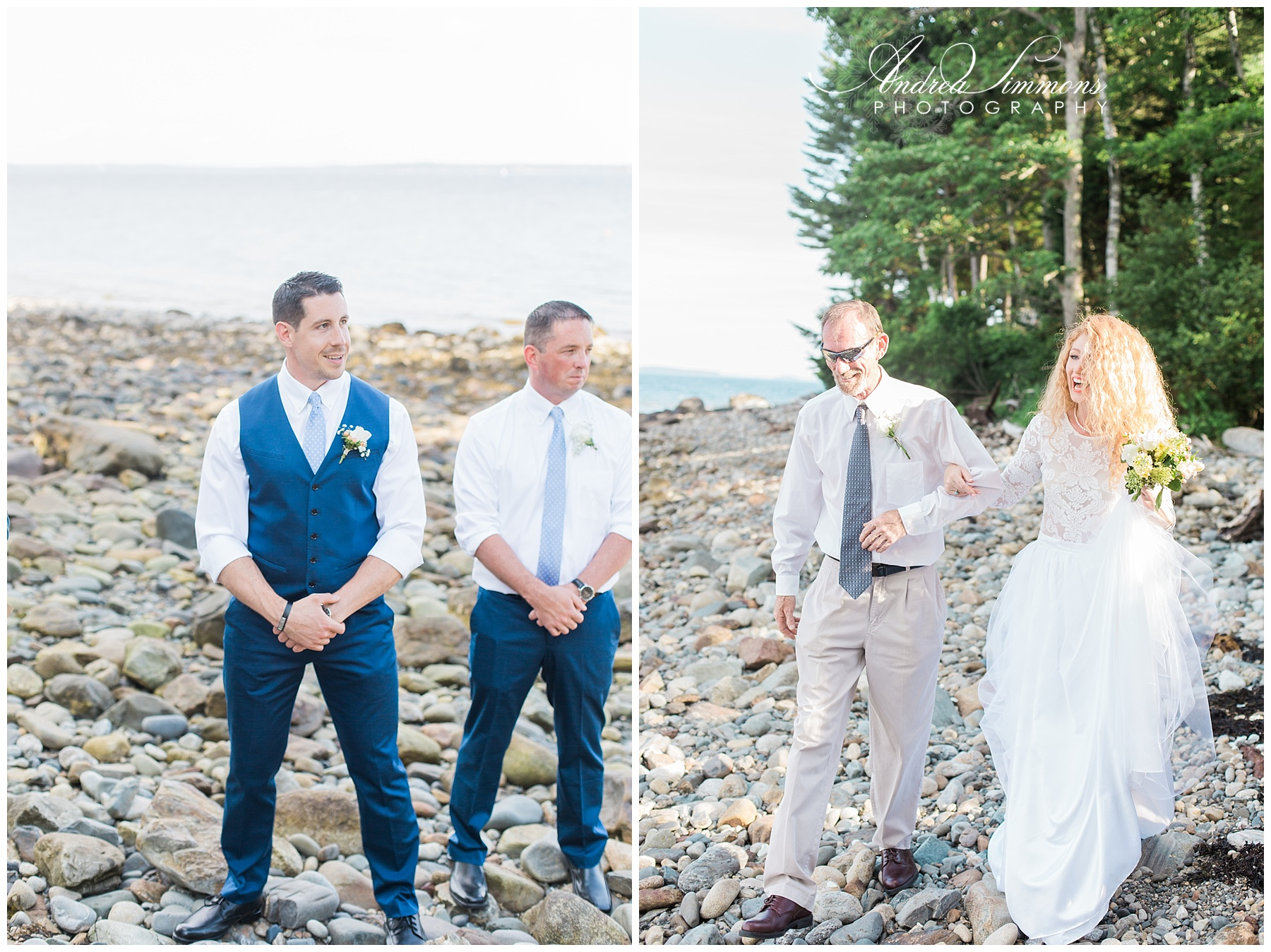 lincolnville maine wedding photographer