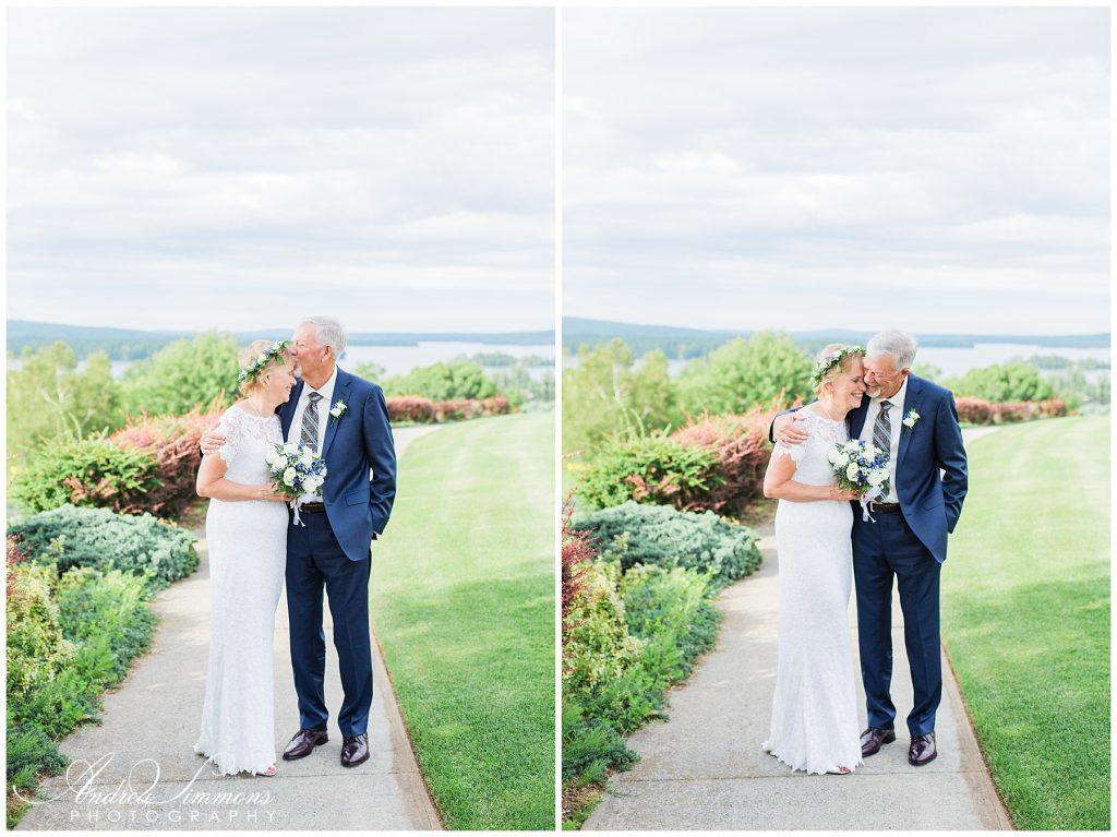 belgrade lakes maine wedding photographer