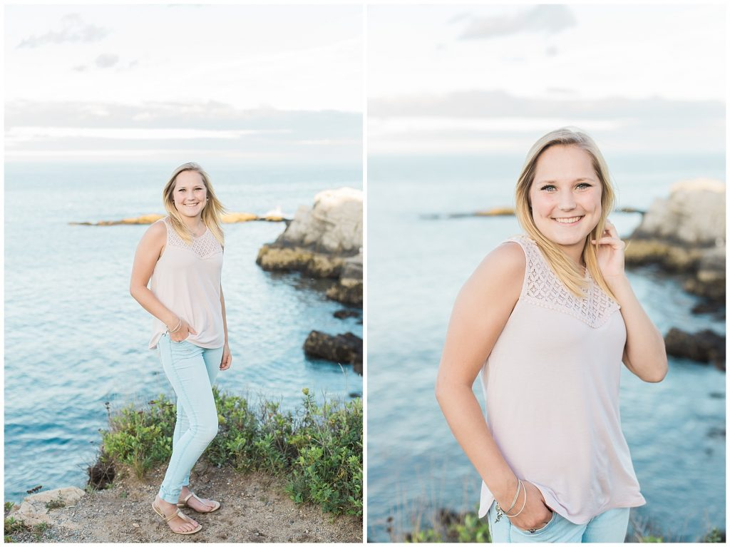 cape elizabeth senior portrait photographer