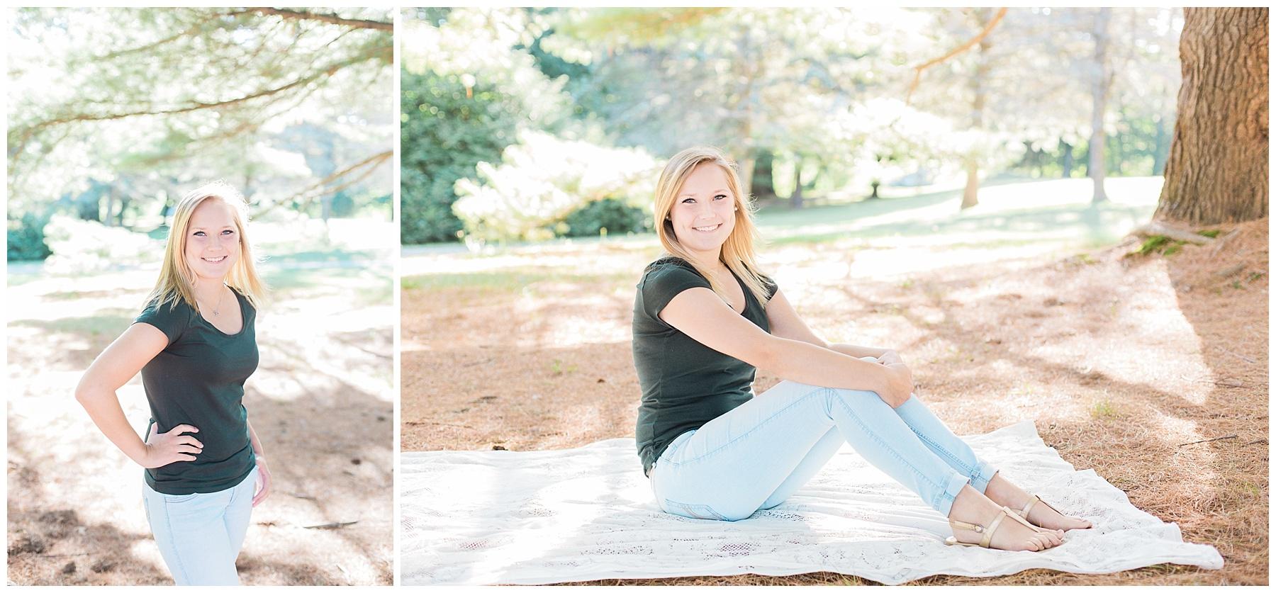 augusta maine senior portrait photographer