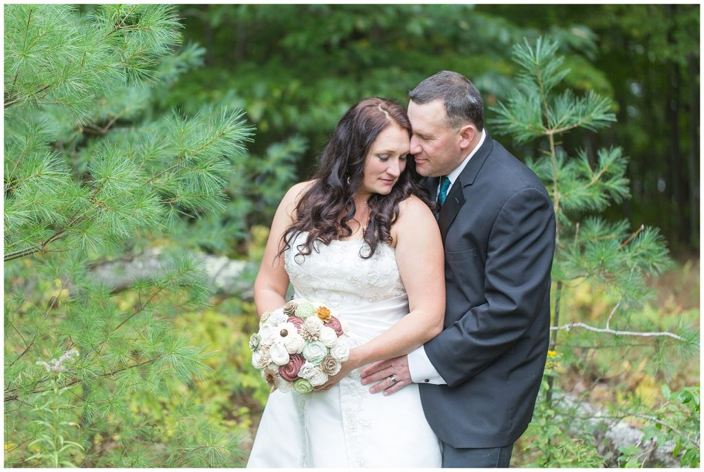 winthrop maine wedding photographer