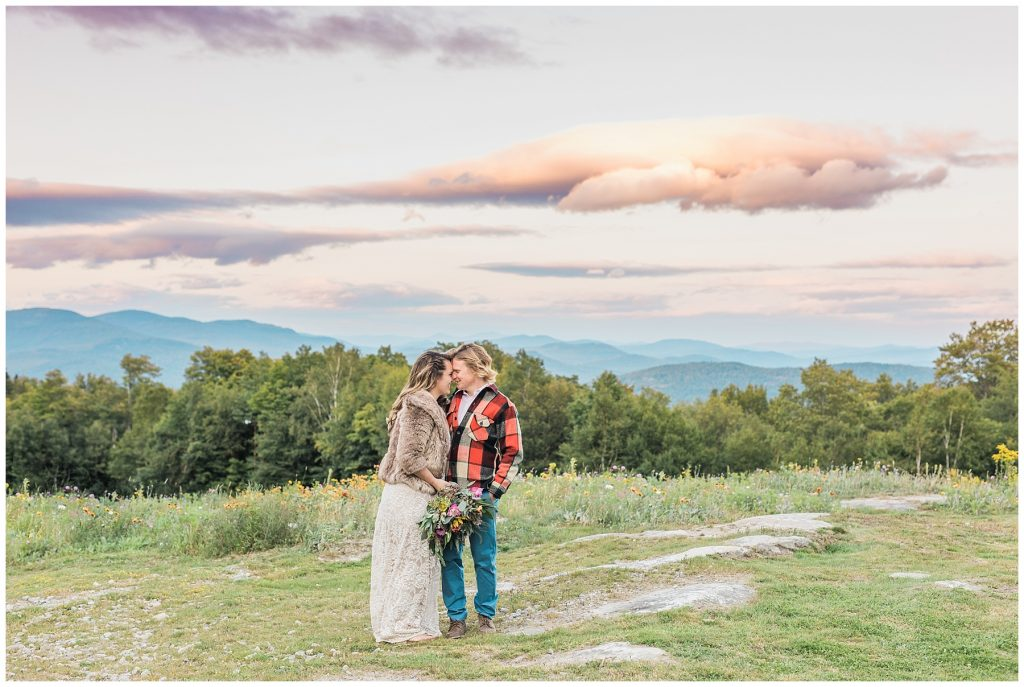 north peak lodge in newry maine wedding photographer